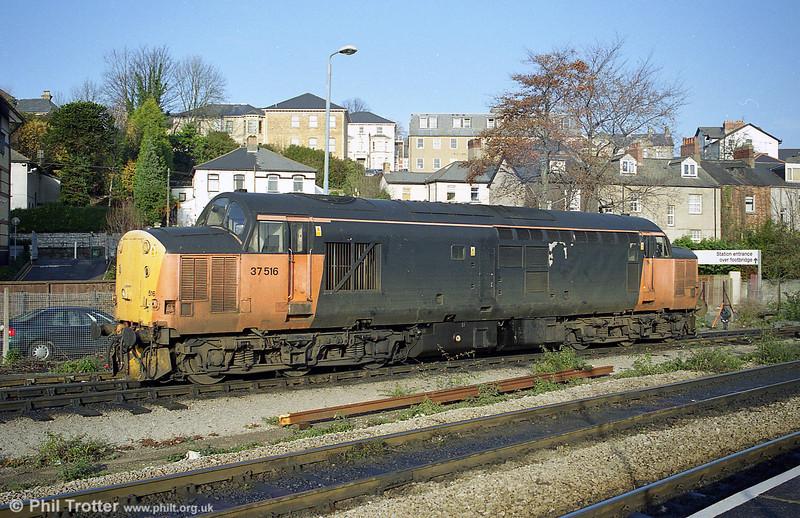 Load Haul 37516 at Godfrey Road, Newport.