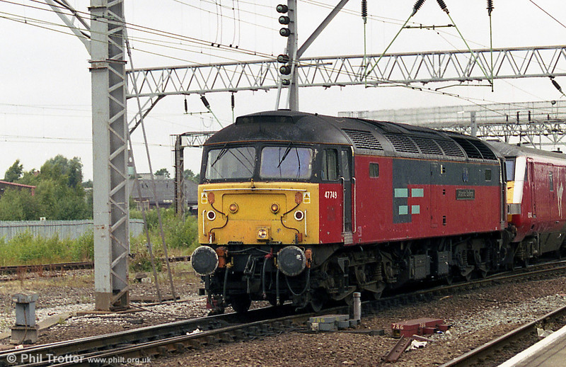 47749 'Atlantic College' again at Crewe, in August 2003.