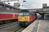 47725 'The Railway Mission' at Stafford on 2nd March 2001.
