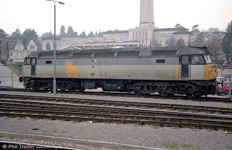 47292 seen at Newport, Godfrey Road. New in 1966, 47292 has been preserved at the GCR(N), Ruddington.