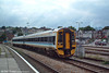 Nowdays part of the FGW fleet, 158751 is seen in original livery at Newport on 30th September 2003.