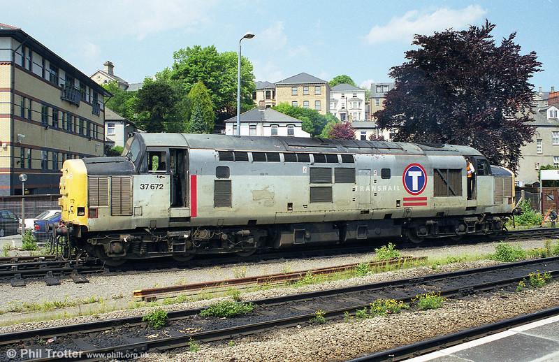 37672 seen at Newport in 1998.