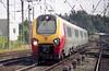 A Class 221 approaching Carlisle.