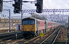 87008 'City of Liverpool' approaches Crewe with a non stop service on 2nd March 2001.