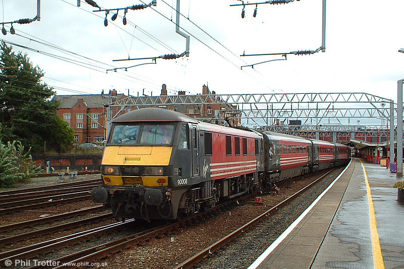 90007 'Keith Harper' seen at Crewe during 2003.