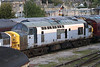 37095 seen awaiting its inevitable fate at Carnforth in May 2003.