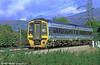 Wales & West 158821 near Abergavenny.