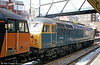 BR blue 56006 at Newport in 2003. The loco is preserved at Barrow Hill.