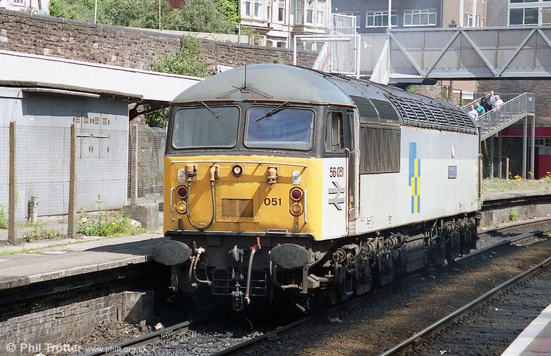 56051 'Isle of Grain' at Newport in May 1995.