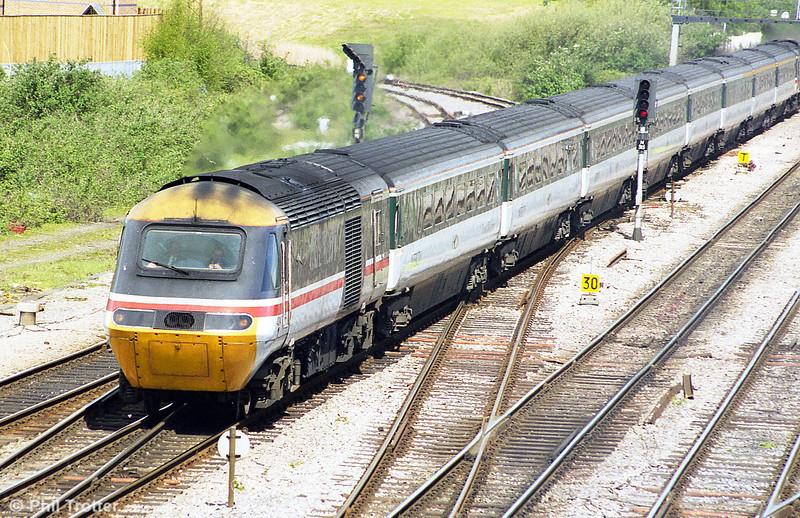 A Swansea-bound HST at Newport, ADJ.