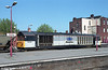Mainline 58006 passes through Derby on 27th May 1997.