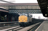 37680 at Newport with an mgr train on 16th March 1998.