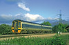 Wales & West 158871 near Abergavenny.