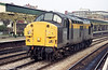 37038 runs light through Newport in November 1998.