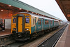 150250 at Cardiff Central on 18th October 2005.