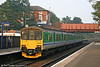 150010 at Kidderminster with the 1630 service from Great Malvern to Stratford upon Avon on 15th October 2005.