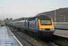 43164 arrives at Swansea from London Paddington on 12th November 2005.