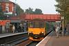 Central Trains 150016 calls at Kidderminster on 15th October 2005.