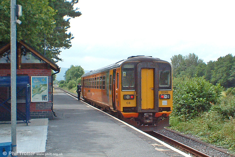 153362 calls at Ammanford & Tirydail on 23rd July 2005.