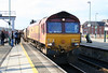 66243 passes Cardiff Central with a RHTT on 4th December 2005.