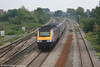An unidentified FGW HST set at Magor with the 1145 London Paddington to Swansea on 10th September 2005.