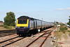 An unidentified FGW HST set approaches Swindon with a service from London Paddington to Bristol on 30th August 2005.