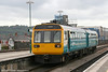 142075 at Cardiff Central with a Treherbert service on 26th September 2005.