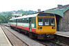 Arriva/Valley Lines 142076 at Bargoed with the 1142 service to Cardiff on 25th June 2005.
