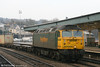 57006 'Freightliner Reliance' runs through Newport with a Freightliner train on 24th February 2006.