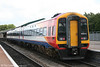 South West Trains 159012 at Westbury with a crew training run on 2nd August 2006.