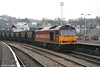 60010 heads through Newport with 7C79, 1013 Parc Slip to Westbury on 27th December 2006.