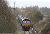 EWS 66246 waits to leave Tower Colliery with 6C45, the 1054 for Aberthaw Power Station on 27th November 2006. The train is standing on the remains of the truncated GWR Vale of Neath route.