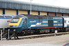Cotswold Rail's 43193 'Rio Triumph' at Gloucester on 28th May 2006.