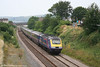 FGW 43126 approaches Llanelli on 22nd July 2006 with the 1005 Pembroke Dock - Paddington, 'The Pembroke Coast Express'.