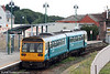 142010 waits at Barry Island ready to form the 1155 service to Merthyr Tydfil on 26th August 2006.