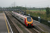 A diverted VXC class 220 passes gloomy Severn Tunnel Junction on 16th September 2006.