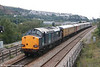 37605 brings up the rear of Serco test train 1Z14 at Swansea Loop East on 13th September 2006.