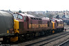 37669 led by 37670 at Newport on 29th March 2006.