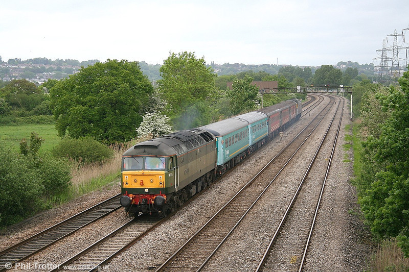 47815 'Great Western' again on 20th May 2006. This time it's on 2N05, the 1315 Newport - Cardiff.