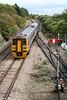 158782 passes Aberthaw with a diverted service for Carmarthen on 2nd September 2006.
