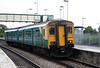 150208 calls at Llantwit Major forming the 0938 Merthyr Tydfil to Bridgend on 2nd September 2006.