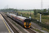 158760 passes Severn Tunnel Junction, bound for Cardiff Central on 16th September 2006.