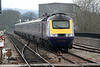 An unidentified FGW HST at Bridgend with the 1430 Swansea - Paddington on 15th April 2006.