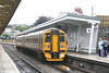 FGW's 158745 calls at the recently extended and reopened platform 4 at Newport with the 1700 Cardiff Central to Westbury on 17th July 2007.