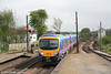 185130 at Barnetby forming the 1038 Cleethorpes - Manchester Airport on 1st May 2007.