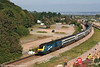 An empty car park indicates that another summer is drawing to a close. MML 43046 heads through Dawlish Warren with VXC's final 1V29, 0720 Manchester Piccadilly to Newquay on 8th September 2007.