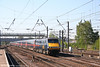 91121 'Archbishop Thomas Cranmer' at speed through Doncaster heading the 0810 King's Cross - Leeds on 1st May 2007.