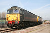 Cotswold's ex-FM Rail 47703 'Hermes' and 47810 'Captain Sensible' stabled in the Up Yard at Port Talbot on 6th April 2007. The pair were on hand for commissioning of the new signalling infrastructure in the Port Talbot area over Easter weekend.