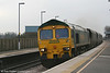 Freightliner 66531 at Tamworth with 4G48, 1000 Rugeley Power Station to Barrow Hill coal empties on 29th January 2007.