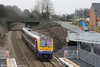 175009 seen from the footbridge at Llanharan forming the 0728 Manchester Piccadilly to Carmarthen on 15th December 2007.